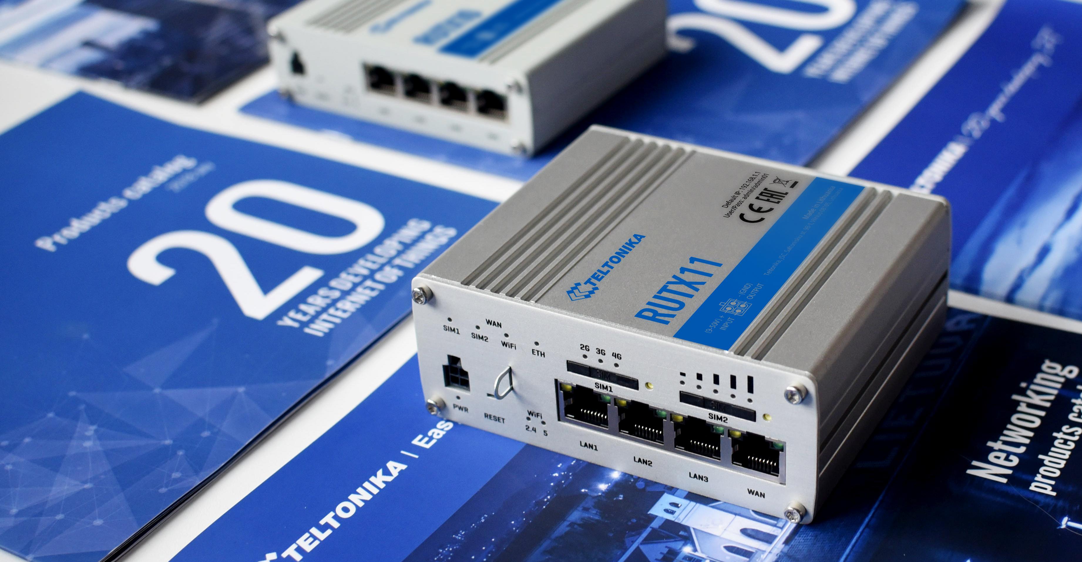 Industrie Fernzugriff-Router TELTONIKA RUTX11