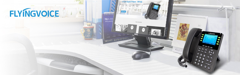 Flyingvoice Releases a New Enterprise IP Phone FIP14G with Gigabit Ethernet, PoE, WiFi