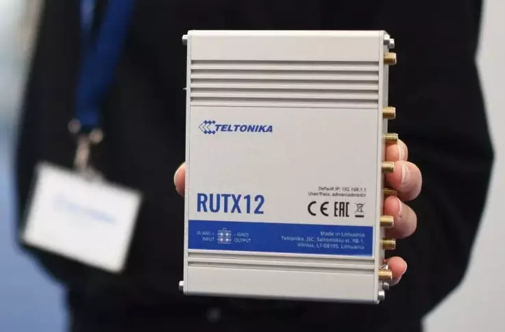 Introducing the Teltonika RUTX12: The new RUTX12 has two independent 4G LTE CAT6 mobile modems working with 2 SIM cards to provide redundancy and maximize connection availability with advanced network security features.