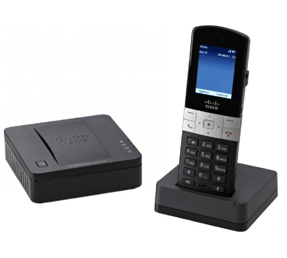 Cisco SPA302D Kit Multiline DECT-Handset mit Base Station