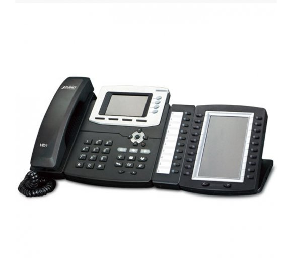 Planet VIP-6040PT High-performance VoIP Phone with Gigabit Ethernet, Color LCD, HD wideband, PoE (4-Line)