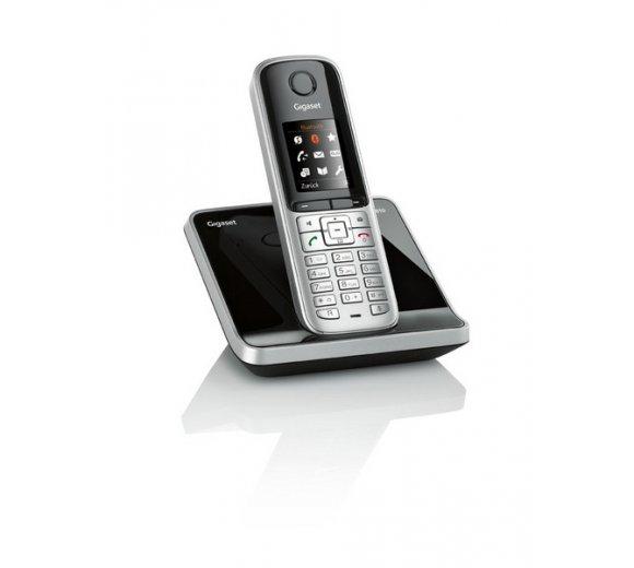 gigaset s810 analog dect telefon farbe stahlgrau. Black Bedroom Furniture Sets. Home Design Ideas