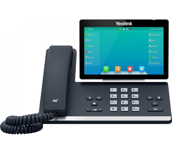 Yealink T57W IP Phone with Wi-Fi IEEE 802.11ac & Bluetooth 4.2
