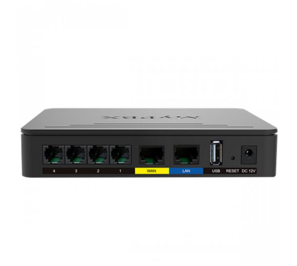 Yeastar MyPBX SOHO IP PBX for 32 Users, License free, modular expandable