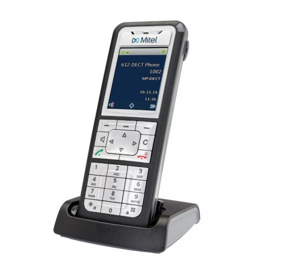 Mitel (ex.Aastra) 612d (Set), DECT over SIP