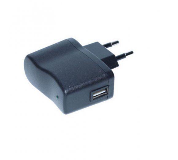 USB Power supply AC-Adapter 1A Output (KIRK/Spectralink Butterfly Power supply compatible, without USB Cable)