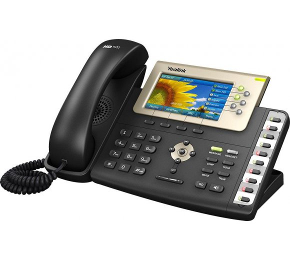 Yealink SIP-T38G Gigabit Color IP Phone, ECO Product