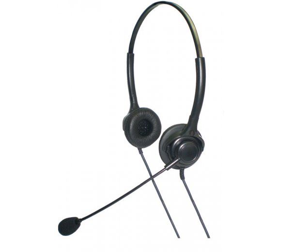 ADD-COM Newfonic H2 Noise Cancelling Binaural, Call Centre Bin NC headset, NFH2Q
