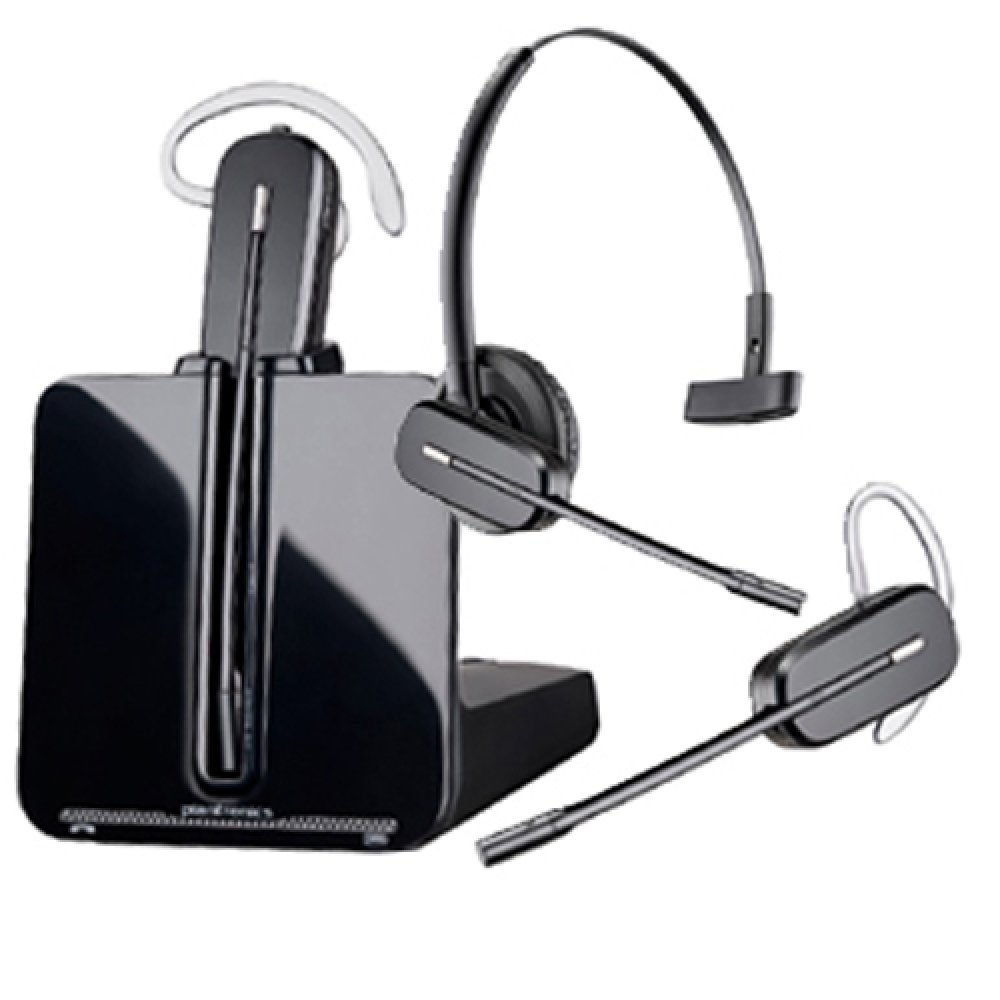 Plantronics Cs540 Dect Headset Convertible With 3 Wear Options 139 20