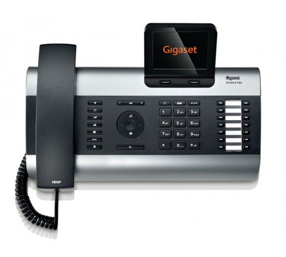 Gigaset DE900 IP PRO, WLAN, Bluetooth, DECT, Gigabit, PoE, Kensington Lock
