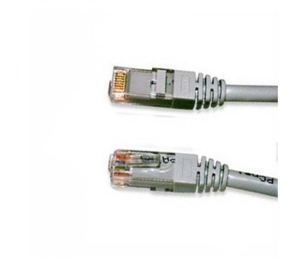 2,0m CAT.6 Patchcable S-STP PIMF grau (10/100/1000 Mbit)