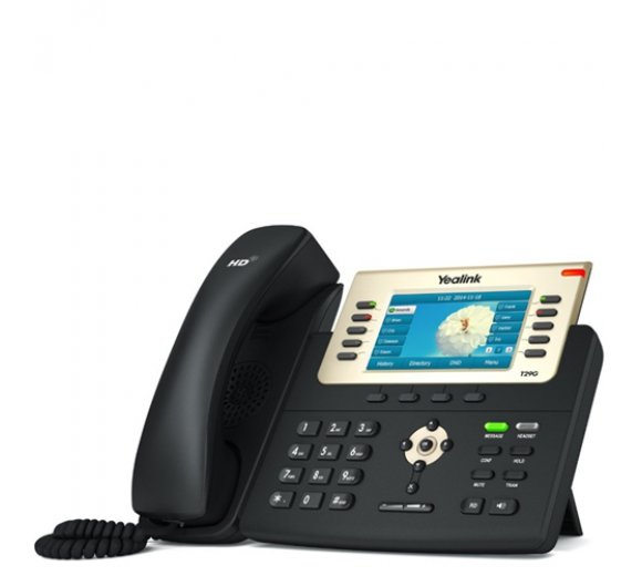 Yealink SIP-T29G IP Phone (Dual-Port Gigabit Ethernet, PoE)