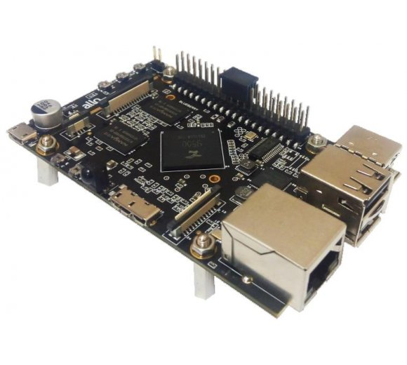 ALLO SPARKY QUAD Single Board Computer (SBC), Quad Core CortexA9, Speed 1.3GHz, H.264, 1080p@60fps, support Android, Linux