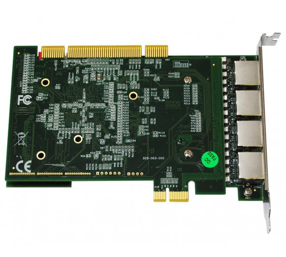 ALLO 4PRI (PCI&PCIe) with LEC (2nd Gen) 4 port E1/T1 PRI Card - 4 Port PCI & PCI Express Interfaces on the same board + Echo Cancel, Works directly with DAHDI *no patch requred*