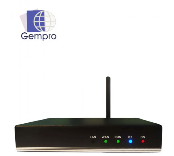 Gempro GP-710A Bluetooth VoIP Gateway (SIP) with 1 Port compatible with 3CX, Asterisk and more