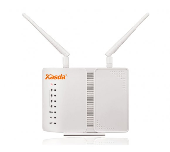 Kasda KW5212 VDSL2 / ADSL2 + Vectoring Wireless Modem Router, Wireless N up to 300 Mbit/s (depending on the provider)