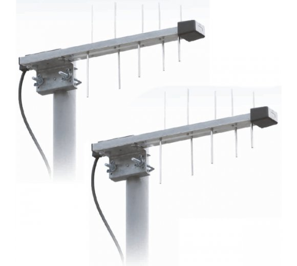 LTE 800 Duo SET (790-862 MHz), LAT10 Duoset: Wittenberg LTE Antennen (2 x LAT10 LTE Antenne)