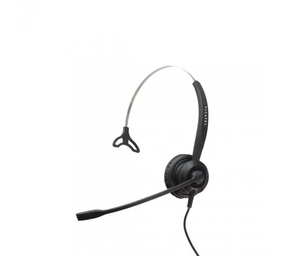 Alcatel TH120 Monaural NC Headset, Kompatibel mit Analog (Temporis 380/580/780) und VoIP (Temporis IP100/IP150)