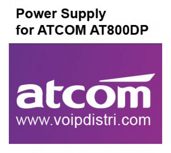 ATCOM External universal AC adapter (AT800DP compatible power supply)