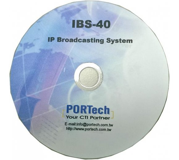 Portech IBS-40 IP Broadcast System: handle 40 pcs