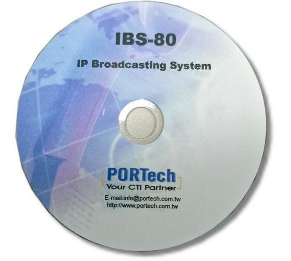 Portech IBS-80 IP Broadcast System: handle 80 pcs