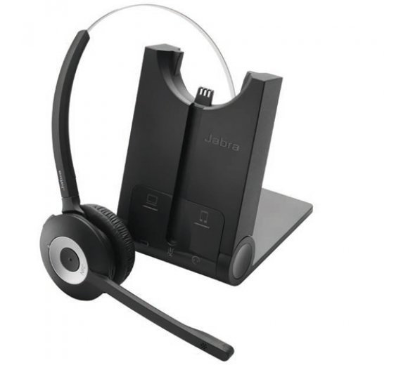 Jabra PRO 920 monaural DECT Headset (Noise-Cancelling, Wideband)