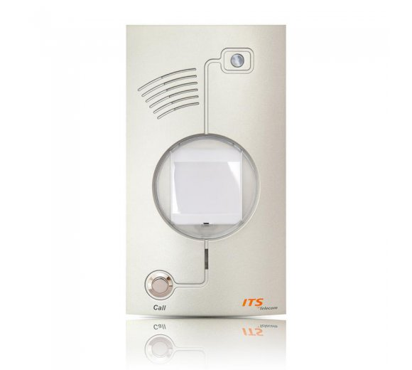 ITS Telecom Metal IP (984) Door IP Phone Metal Single Button with IP Camera in Metal housing