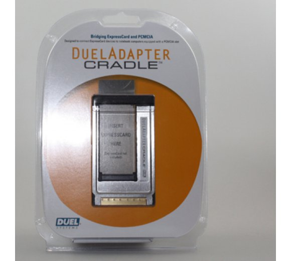 DuelAdapter Cradle EC-to-PCMCIA Adapter