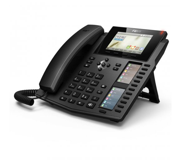 fanvil X6 Gigabit IP phone with 2 color LCD, PoE, HD-Audio (Asterisk