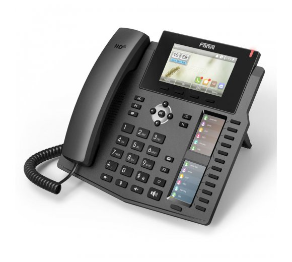 fanvil X6 Gigabit IP phone with 2 color LCD, PoE, HD-Audio (Asterisk, FreeSWITCH, Elastix)