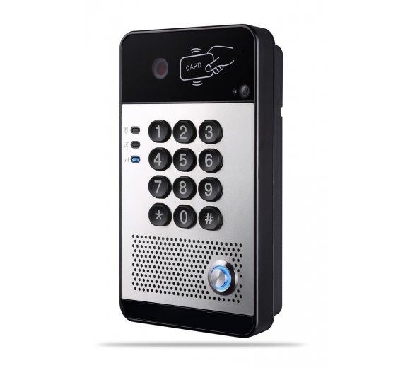 Fanvil i30 SIP Video Door Phone with 2 SIP Lines, Access Control (by call, by code, IC/RFID), OpenVPN, PoE, Wide Temeratur Range