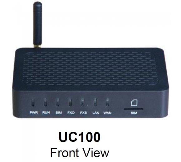 Dinstar UC100-1G1S All-in-one Box (VoIP Gateway with options SIP, 1x GSM, 1x FXS + WIFI), IMEI/PIN Code Management