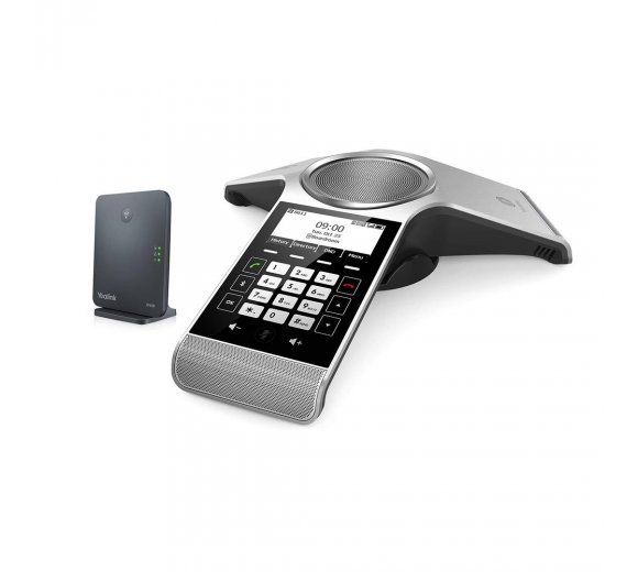 Yealink CP930W + W60B IP-DECT Basic - Wireless DECT Conference Telephone