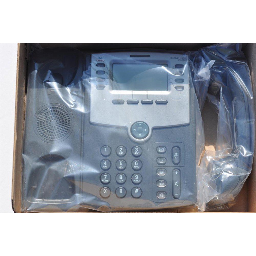 Cisco Spa508g 8 Line Ip Phone Hd 2 Port Switch Poe 3cx Yeastar