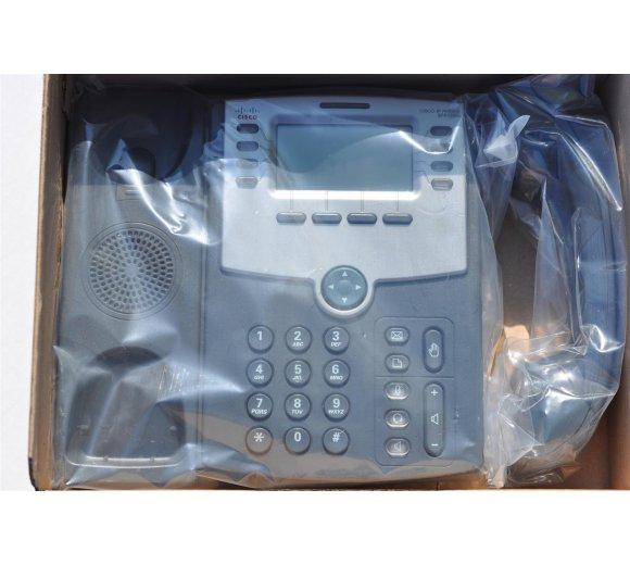 Cisco SPA508G 8-Line IP Phone, HD, 2-Port Switch, PoE (3CX