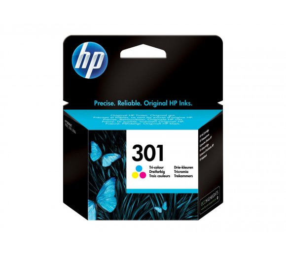 HP Ink Cartridge No. 301 CH562EE tri-color