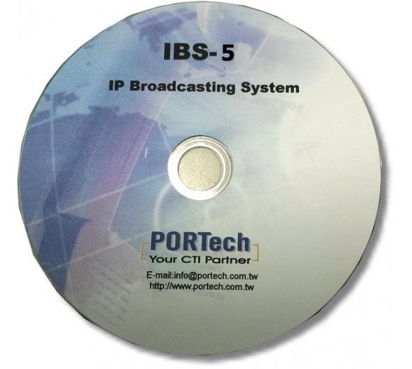 Portech IBS-5 IP Broadcast System: handle 5 pcs