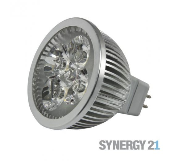 Synergy 21 LED Retrofit GX5, 3 4x1W nw V2 - 24V Version / 114130