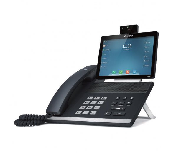 Yealink SIP VP-T49G IP Video Phone, Full HD, 8 Muti-touch Screen, WLAN-N, Bluetooth, HDMI Output, HD Voice, Recording (No PoE Support!!)