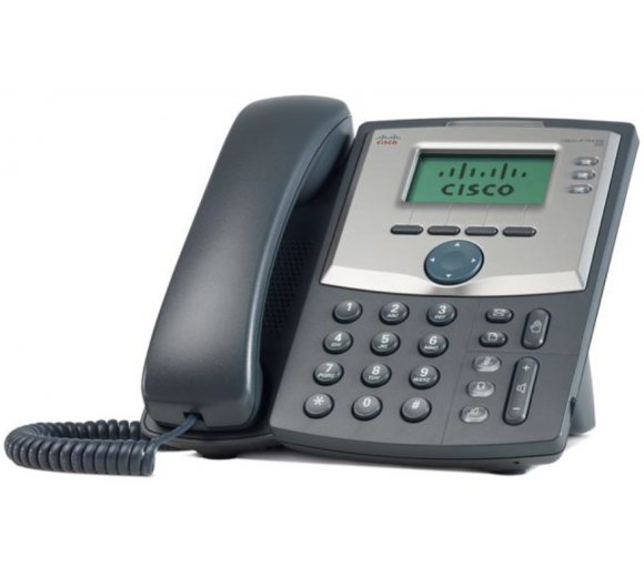 Cisco Small Business SPA303-G2 IP Phone , 3 Sprachleitungen, 2-Port Switch, kein PoE