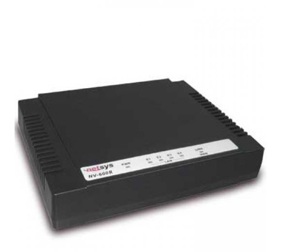 Netsys NV-600A VDSL2 with 4 Port Ethernet Switch (CPE Modem - Slave/Client)
