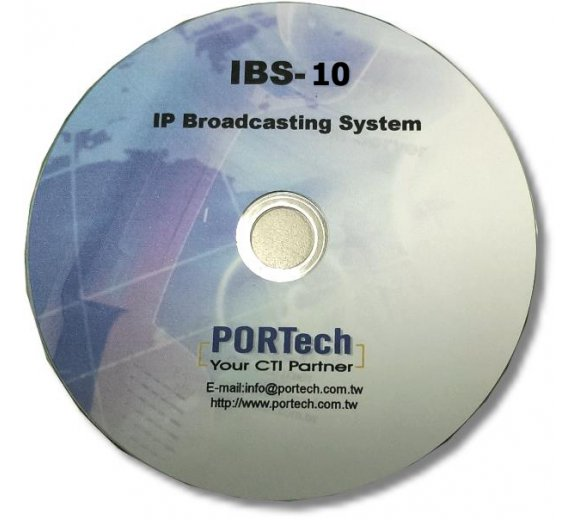 Portech IBS-10 IP Broadcast System: handle 10 pcs