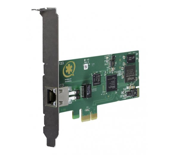 Digium Wildcard TE133 single span digital PCIe card + Echo Cancellation (1TE133F), preview interface card of TE121B