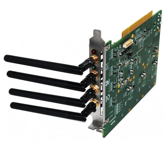 ALLO Quad-Band GSM PCI card, 4 GSM channel interface card for Asterisk/FreeSwitch/Elastix/TrixBox, Hardware Echo Cancellation for Digital audio quality, User can modify IMEI and PIN