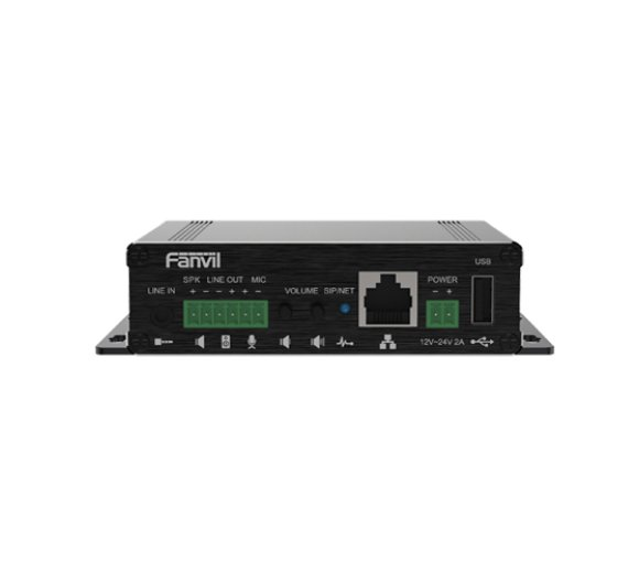 Fanvil PA3 SIP Paging Gateway (HD sound with G722/OPUS codec, IPv6)
