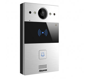 Akuvox R20A SIP door intercom with 120 degree Wide-angle Video camera, Wall-mount casing