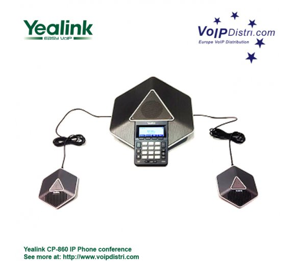 Yealink CP860 VoIP Conference Phone with PoE, HD Audio, OpenVPN