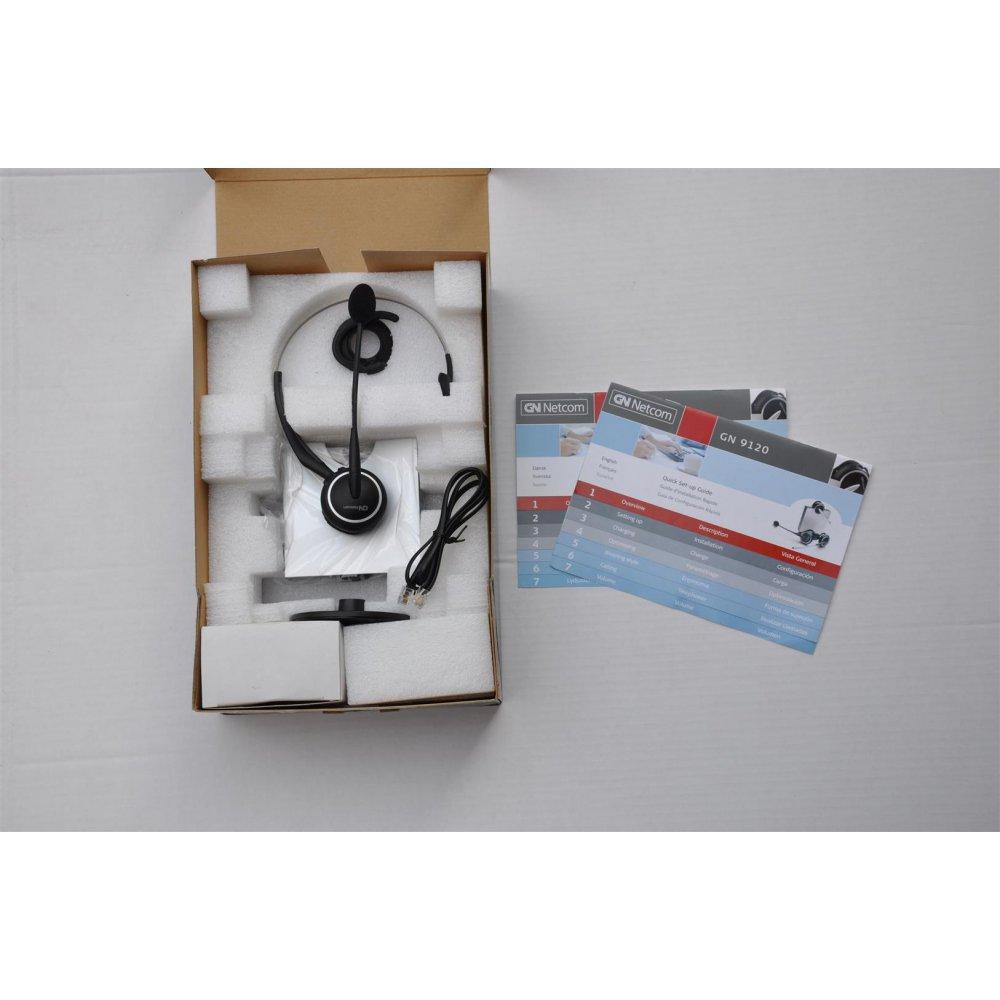 Jabra Gn9120 Flex Nc Microphone: GN-Netcom GN9120 Flex Boom NC Mic. Wireless DECT Headset