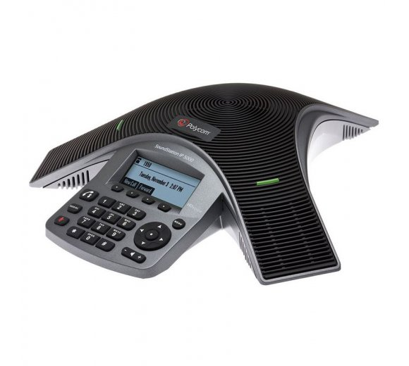 Polycom SoundStation IP 5000 HD Voice IP Conference Phone, B-Stock (Customer returns)