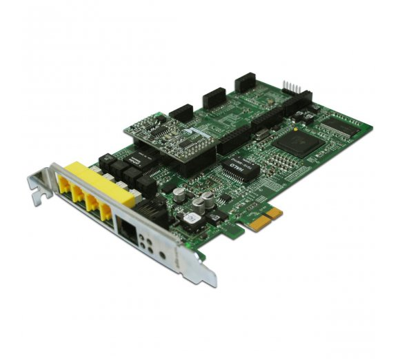 ALLO Analog Active Card with 1 FXS and 3 FXO, compatible with 3CX